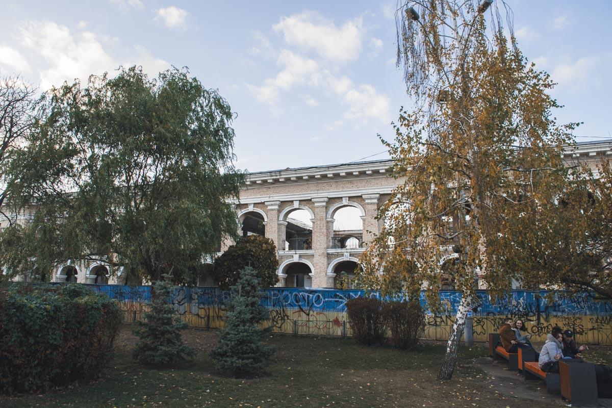 Знаковый для Киева объект уже не первый год находится в плачевном состоянии