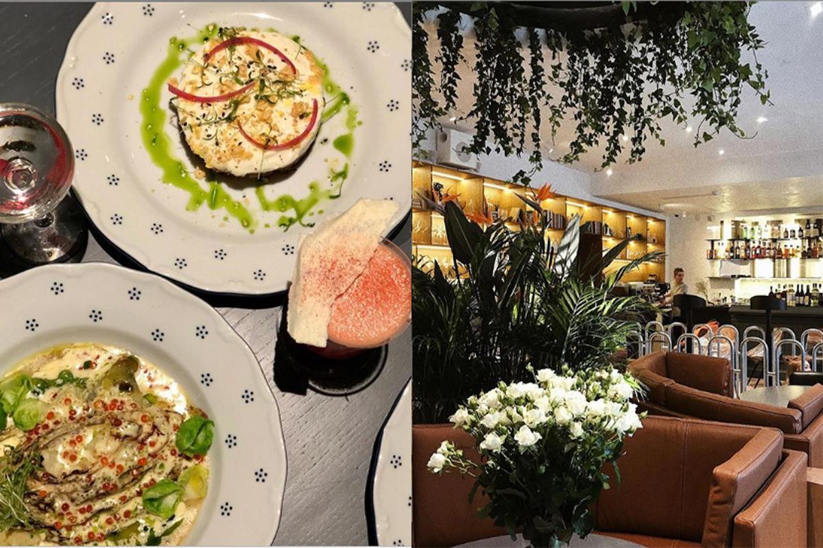 В ресторане можно угоститься вот таким блюдом и отдохнуть в уютной обстановке