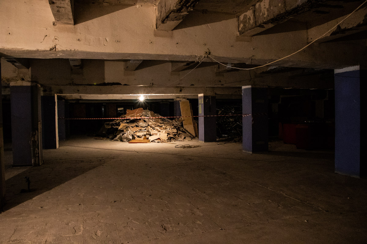 Здание долгое время эксплуатировали, но не инвестировали в него деньги