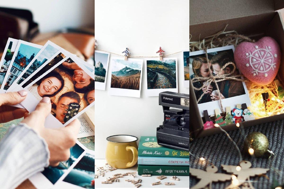 Такой подарок подойдет как для близкого человека, которому вы напечатаете общие с вами снимки, и даже для человека, с которым общих фото нет - напечатайте просто его лучшие (по вашему скромному мнению) фото в Instagram и поверьте, он будет счастлив :)