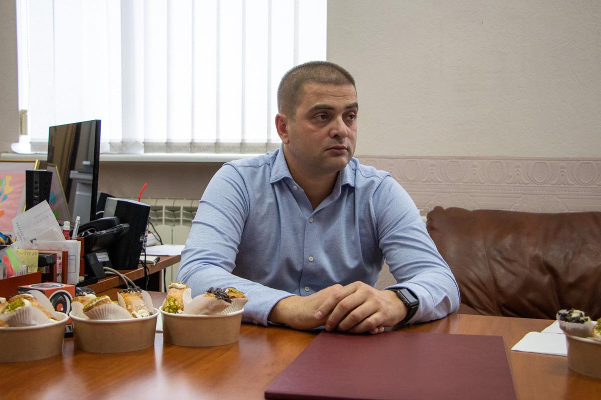 """Директор КП """"Бессарабский рынок"""" Николай Ковальчук встретился с журналистами и поговорил о том, как рынок менялся и будет меняться дальше"""