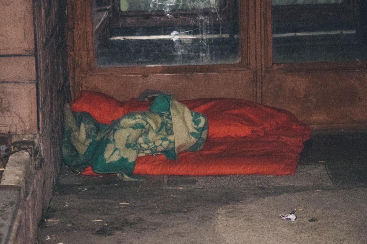 Предварительно, мужчина был бездомным