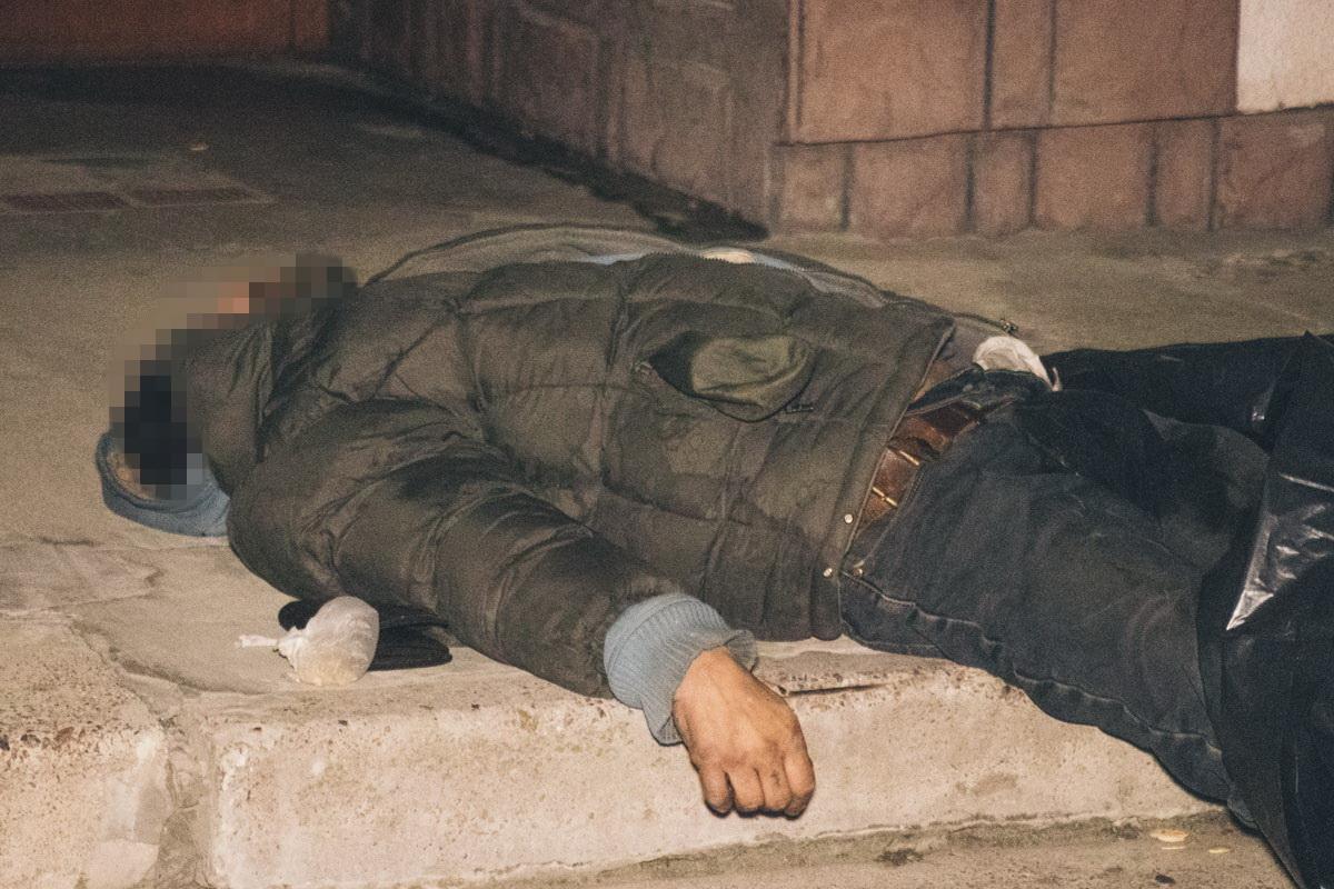 Рядом с телом лежал пустой кошелек