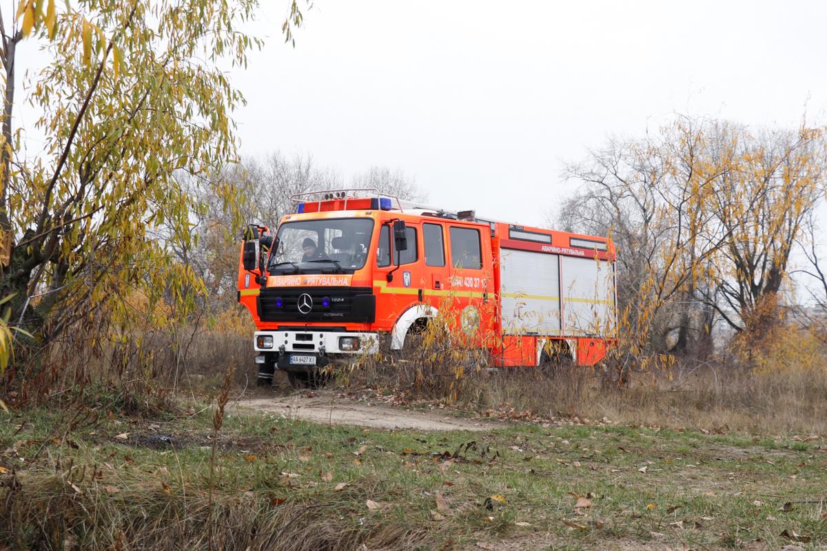 На месте работали правоохранители, спасатели КАРС и ГСЧС