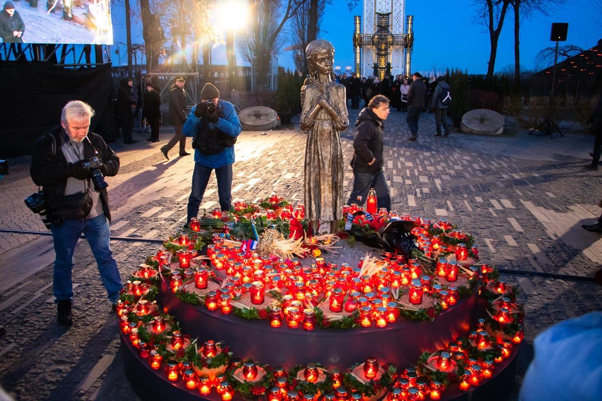 24 ноября в Украине отмечали 86-ю годовщину Голодомора