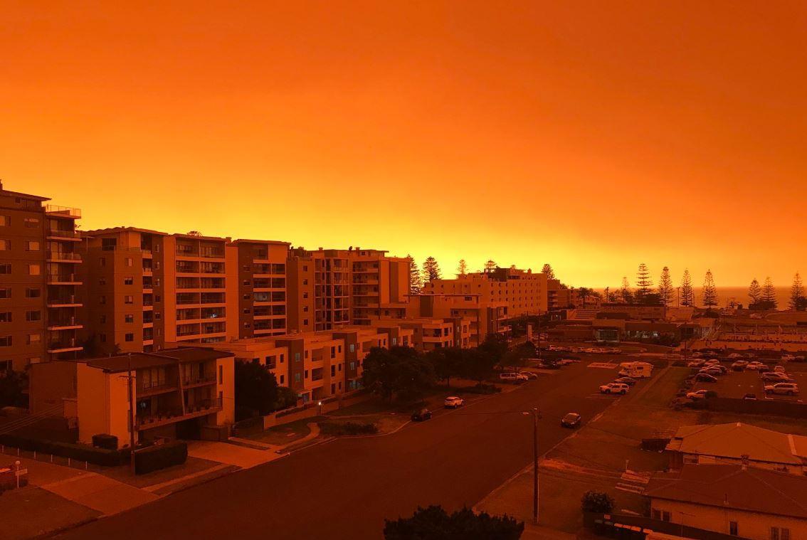 Лесные пожары охватили юго-восточный штат Австралии Новый Южный Уэльс