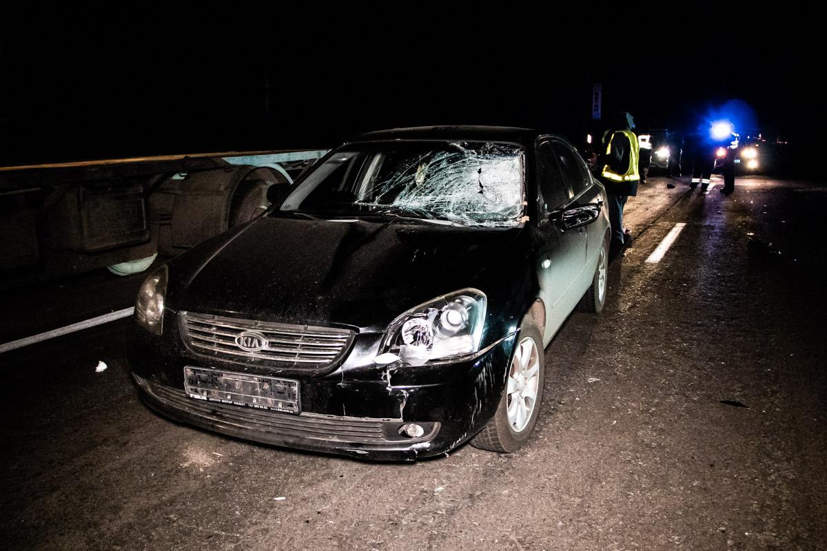 На Черниговской трассе дважды за вечер сбивали людей