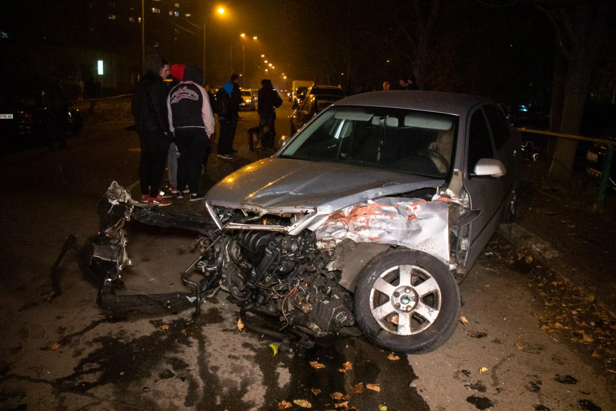 В результате ДТП травмы получил водительSkoda, которого госпитализировали в ближайшую больницу.