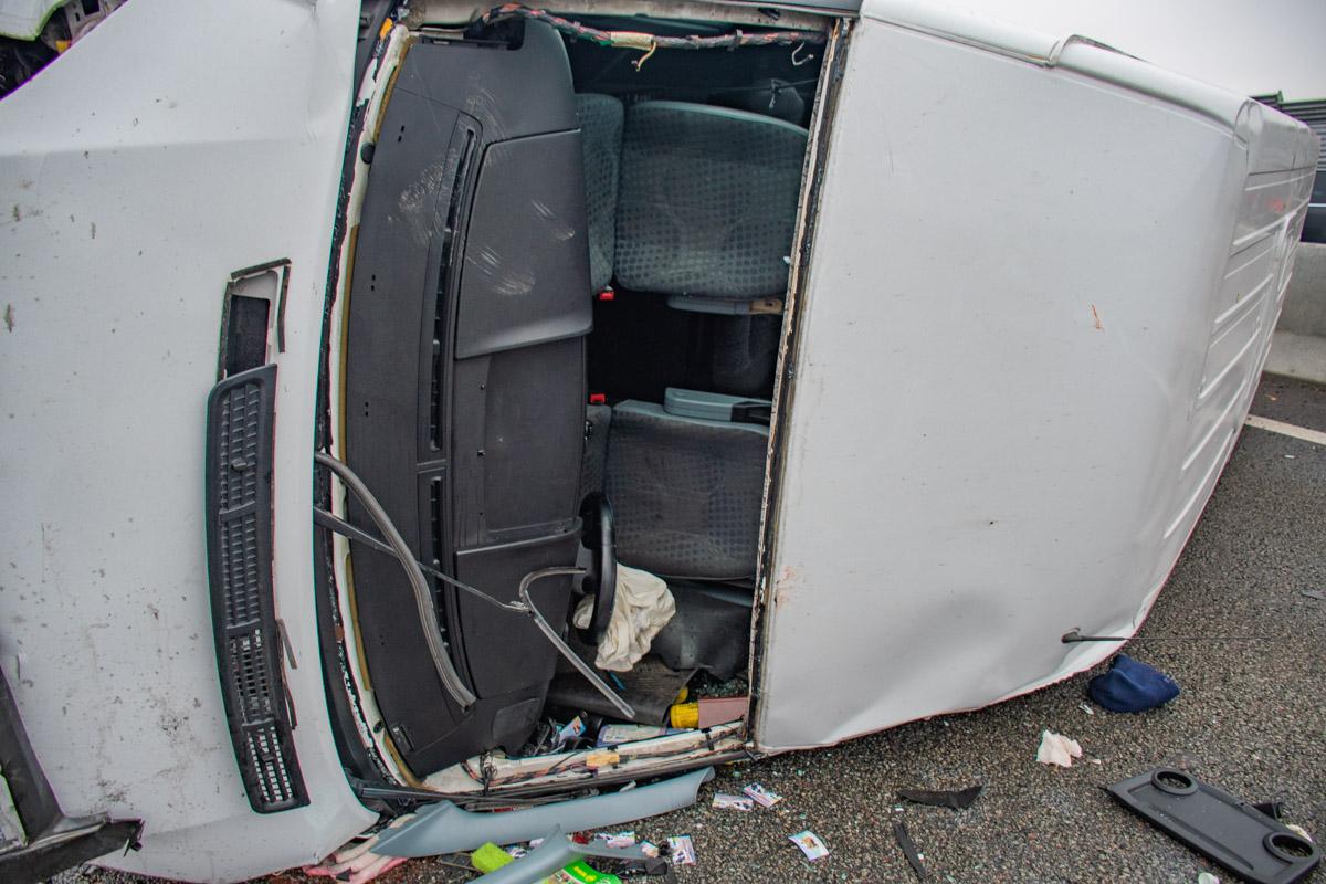 Авария случилась на Одесской трассе