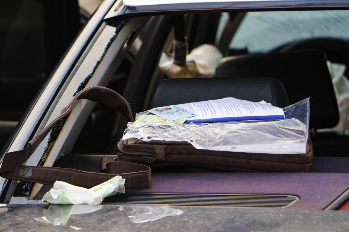 Один из участников аварии рассказал, что водитель BMW двигался из Киева на большой скорости