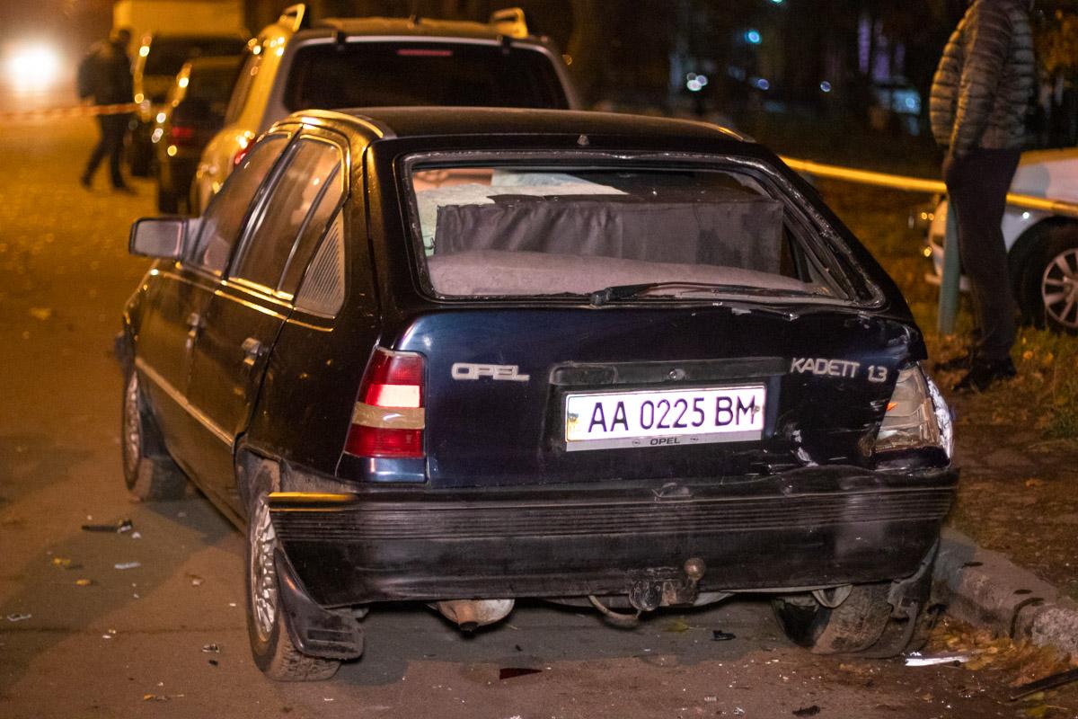 Происшествие случилось в пятницу, 8 ноября, около 20:30