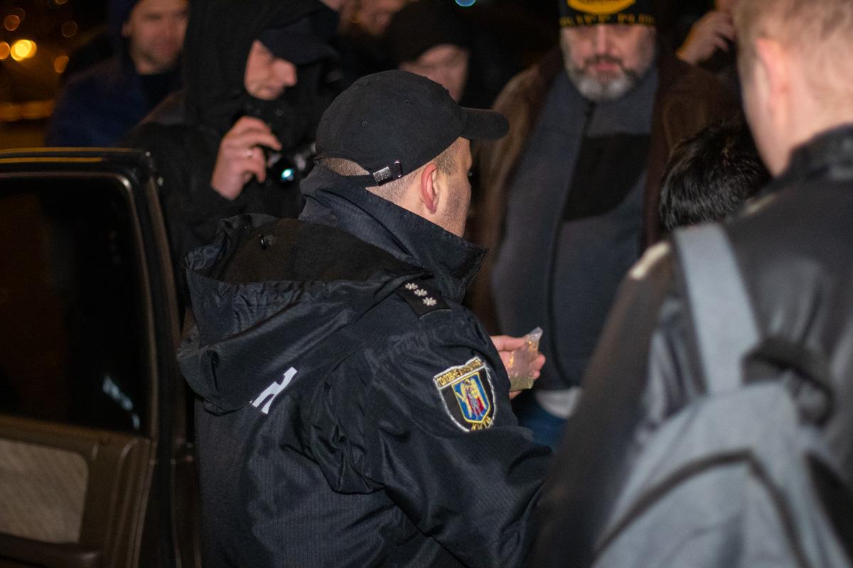 Правоохранители обнаружили в салоне пакет с травой