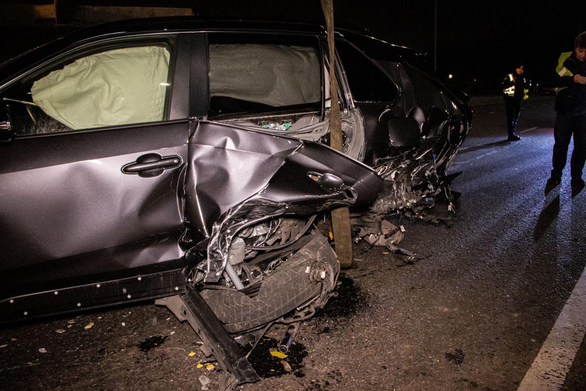 Спустя два часа после аварии все автомобили уже убрали с трассы