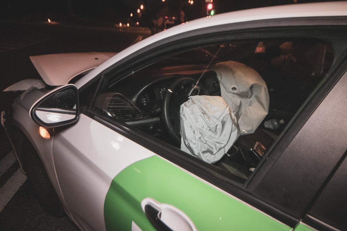 Водитель получил травму головы, но от госпитализации отказался