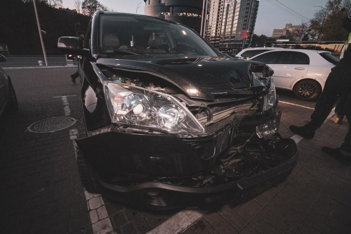 Владелец автомобиля и пассажир были пьяны