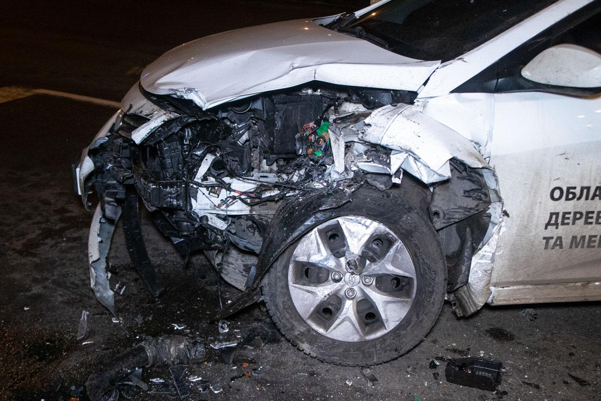 В аварии пострадал водитель ВАЗ