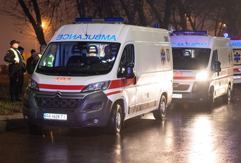 В результате аварии пострадали восемь человек