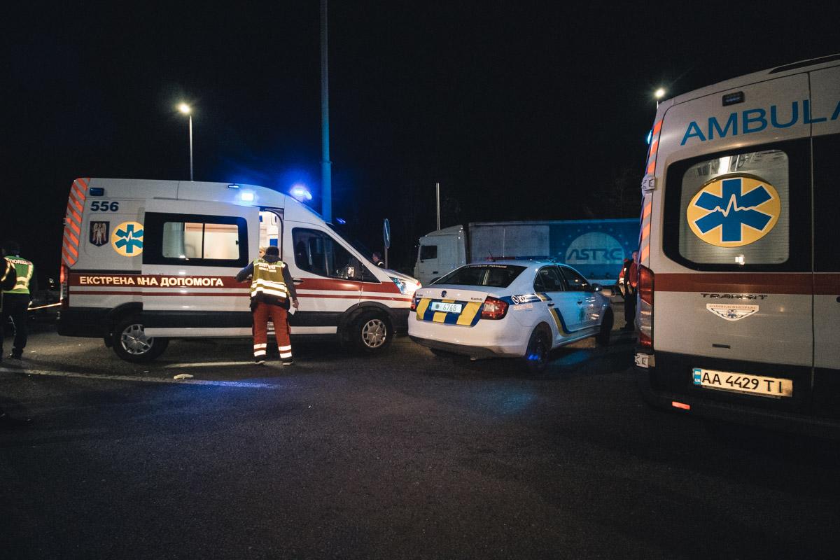Один человек погиб, еще два пострадали