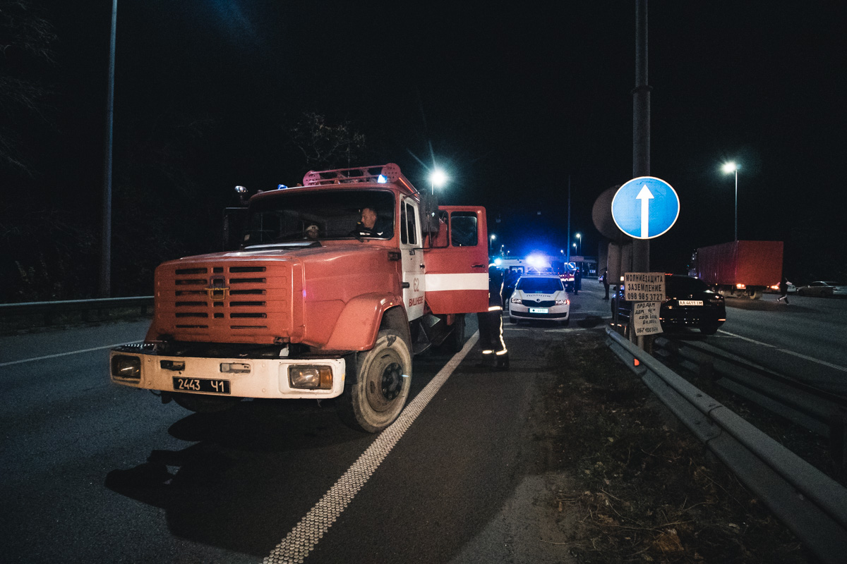 На Брест-Литовском шоссе образовалась многокилометровая пробка