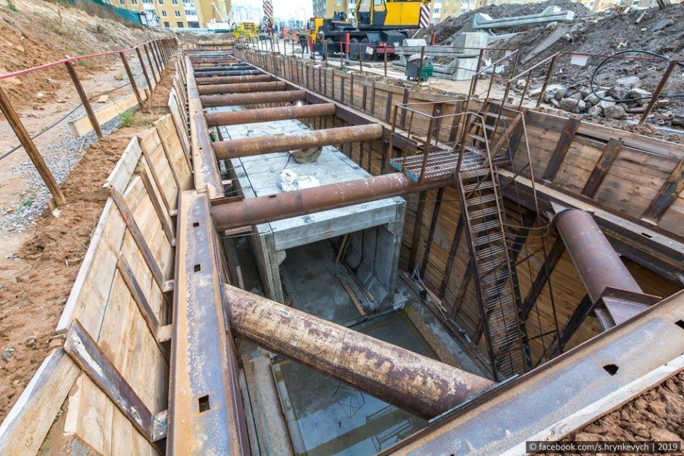 Тоннель будет соединять вентиляционную шахту и перегонные тоннели