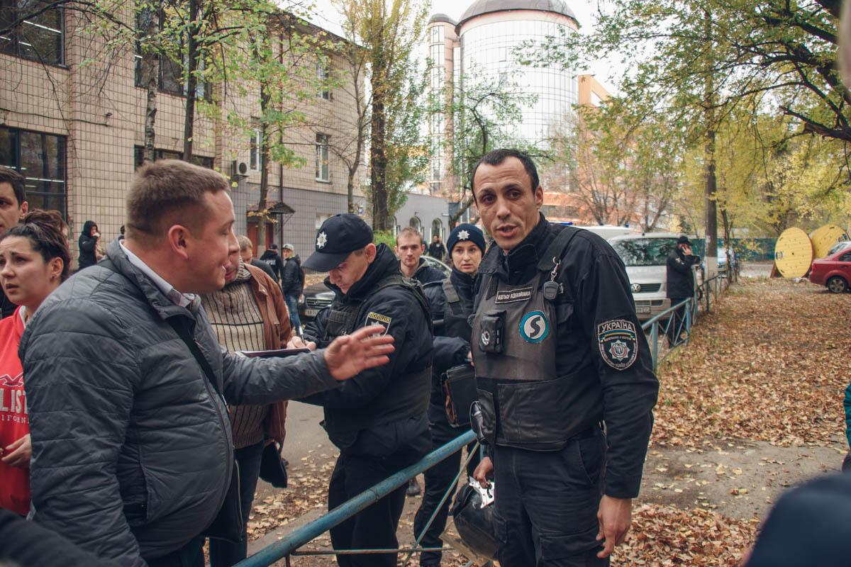 """Участниками конфликта также стали и сотрудники охранной фирмы """"Титан"""""""