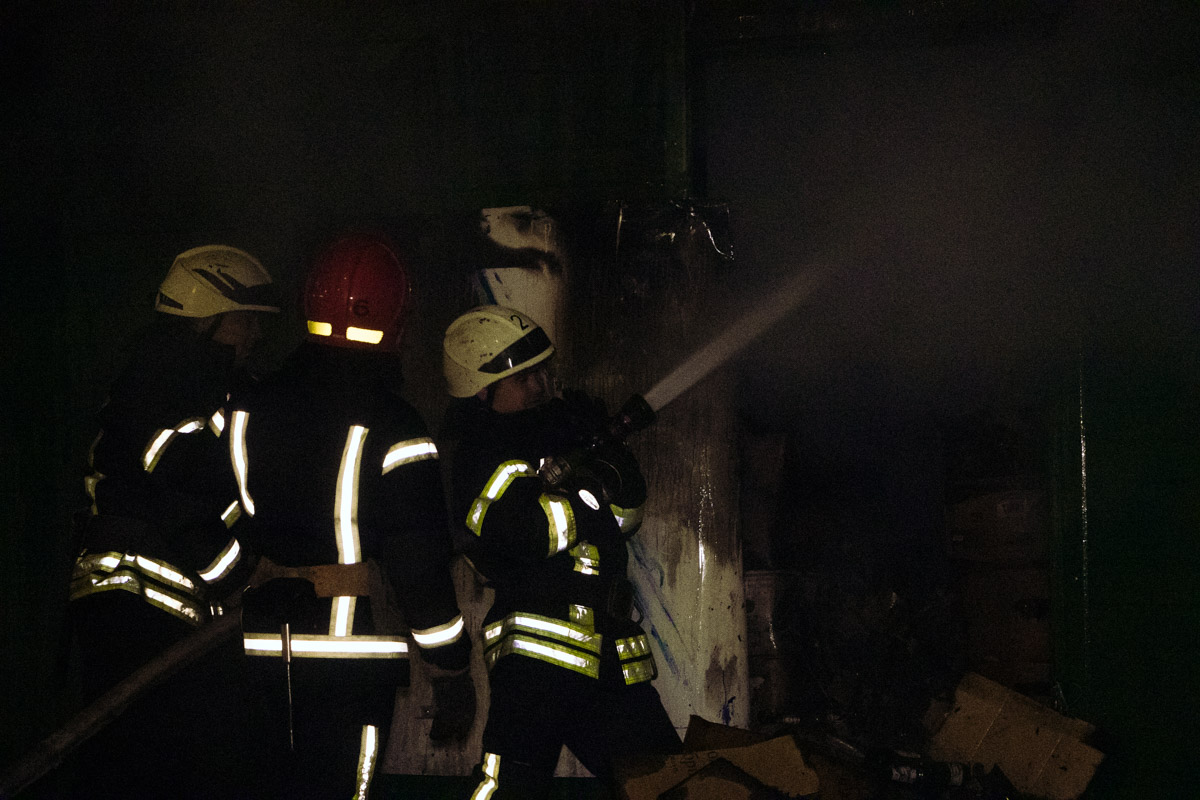 На месте работали спасатели 2-й пожарной части