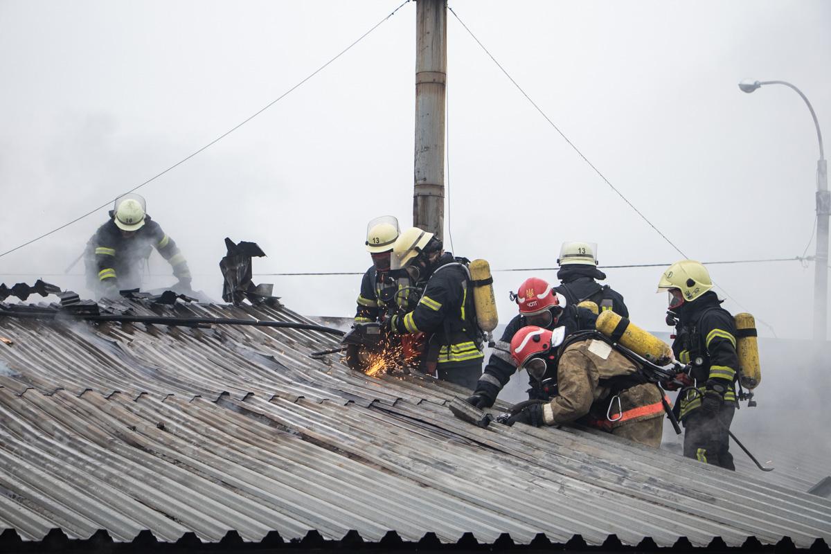 Благодаря самоотверженной работе спасателей пожар удалось ликвидировать