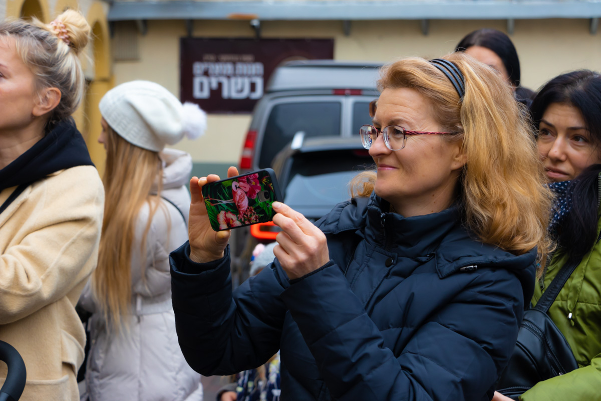 """На открытие пришли жители города, которые интересуются историей Киева и проектом """"Шукай"""""""