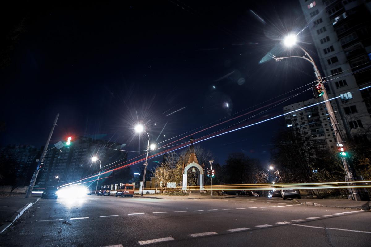 Пересечение Стадионной и улицы Патриарха Мстислава Скрипника