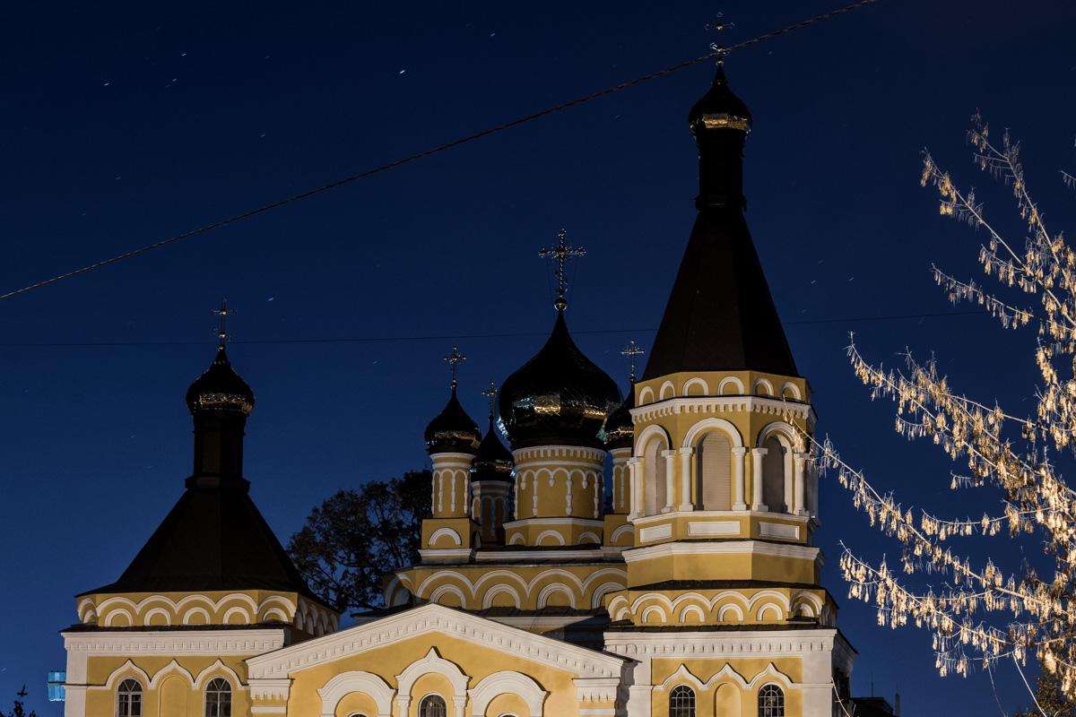 На Стадионной находится Свято-Покровская церковь