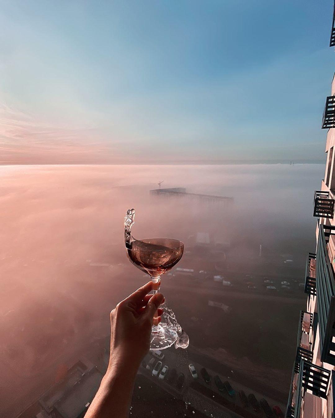 А как насчет того, чтобы поменять перспективу и взлететь выше облаков? @elineckajulia показывает как выглядит такая перспектива