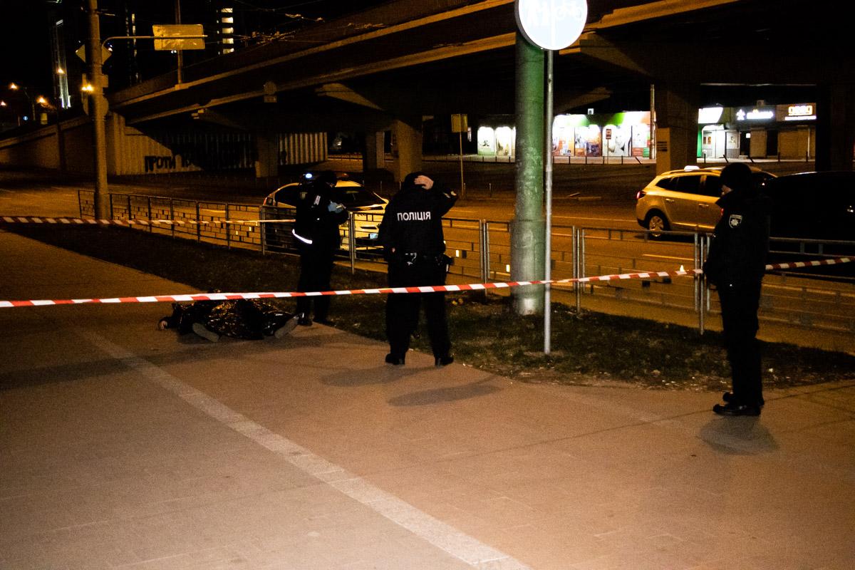 В Киеве на улице убили человека