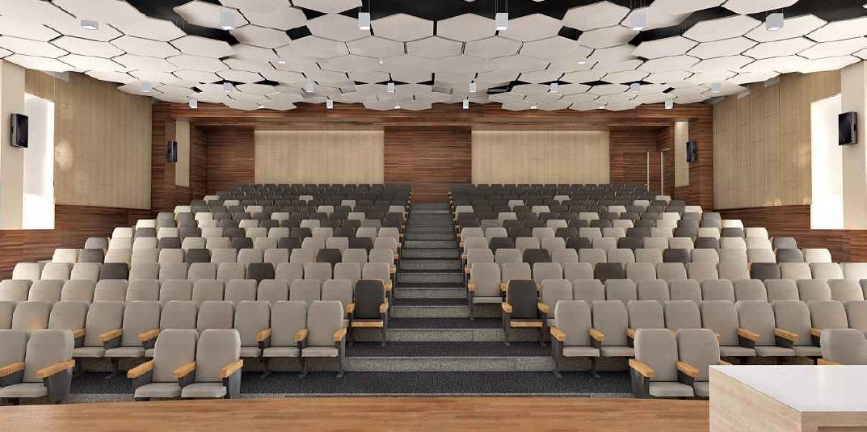 Появятся три новые лектории на 100-120 мест и актовый зал на 350 мест