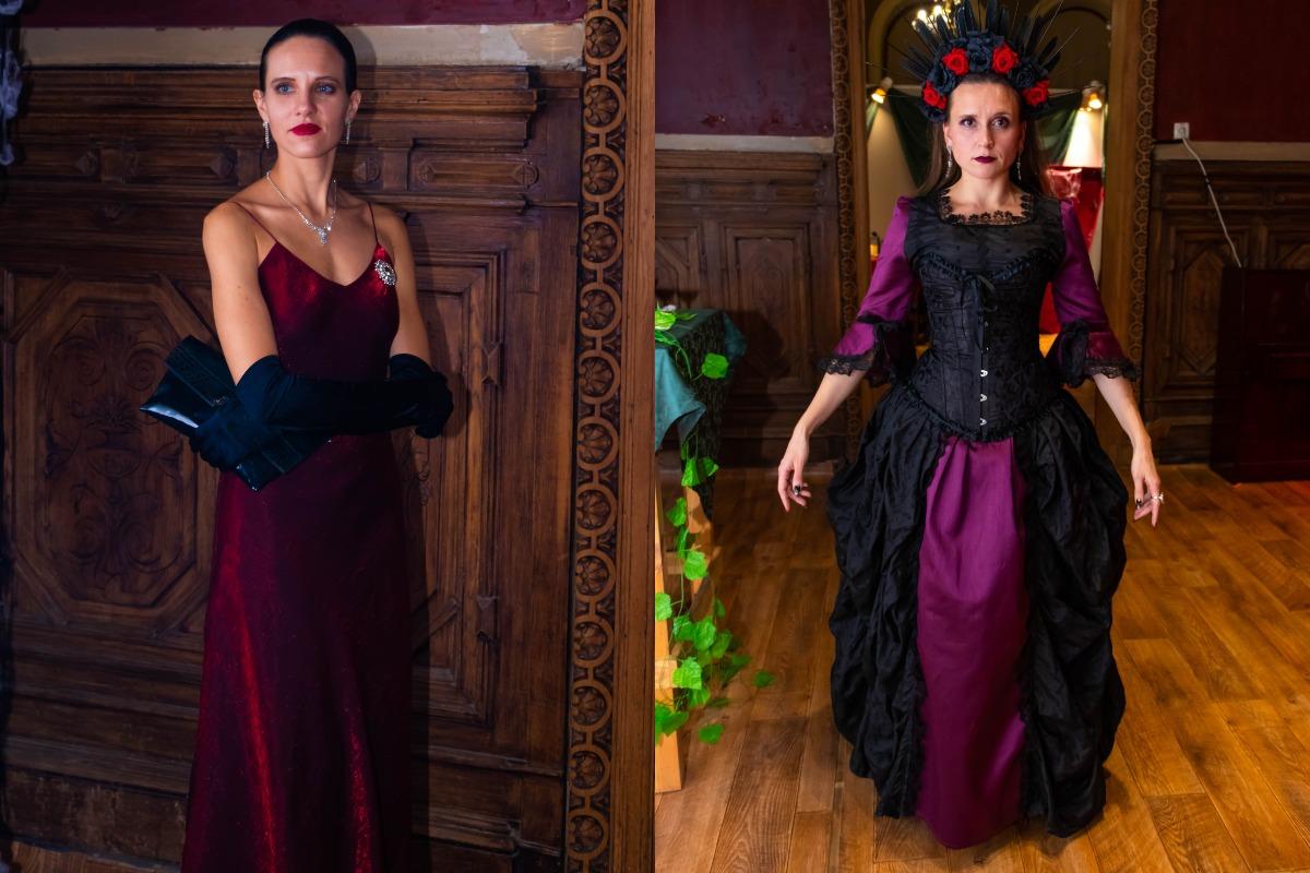 """В этом году вечеринка приурочена 25-летию фильма """"Интервью с вампиром"""", поэтому гостей ожидал показ"""