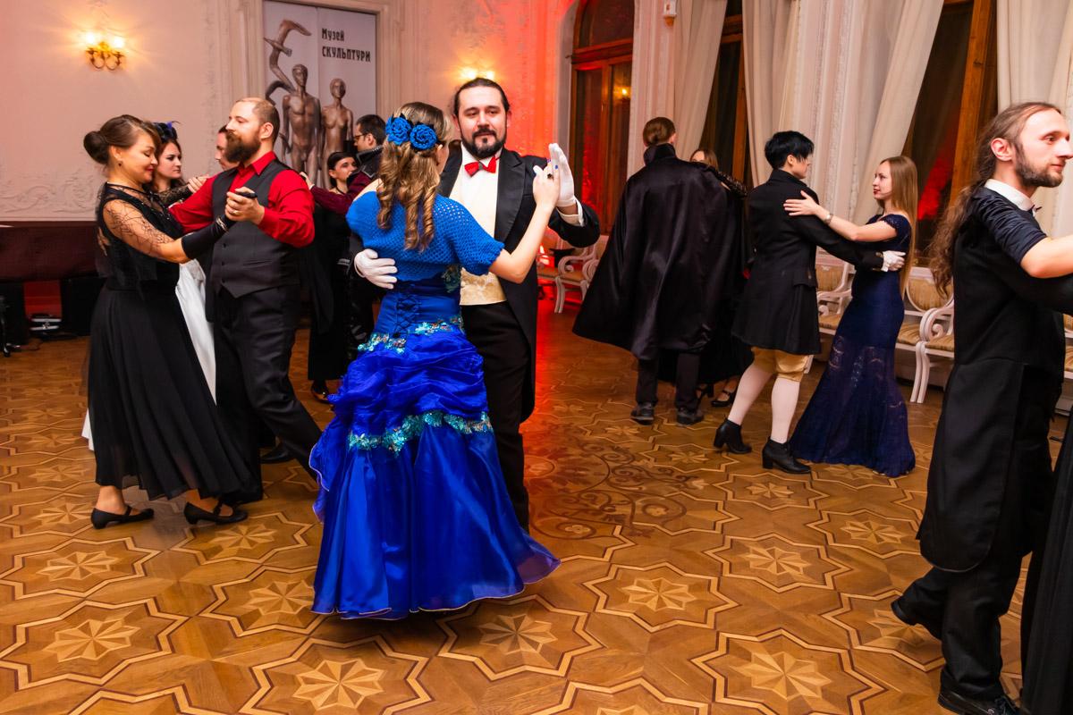 В Киеве прошел бал вампиров Gala Vampiria