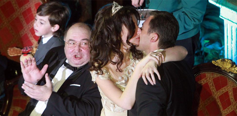 Соболев с бывшей женой Светланой и ее отцом политиком Борисом Шпигелем