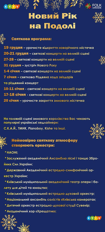 Программа празднований
