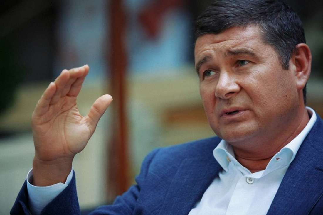 Скандально известный бывший нардеп Онищенко