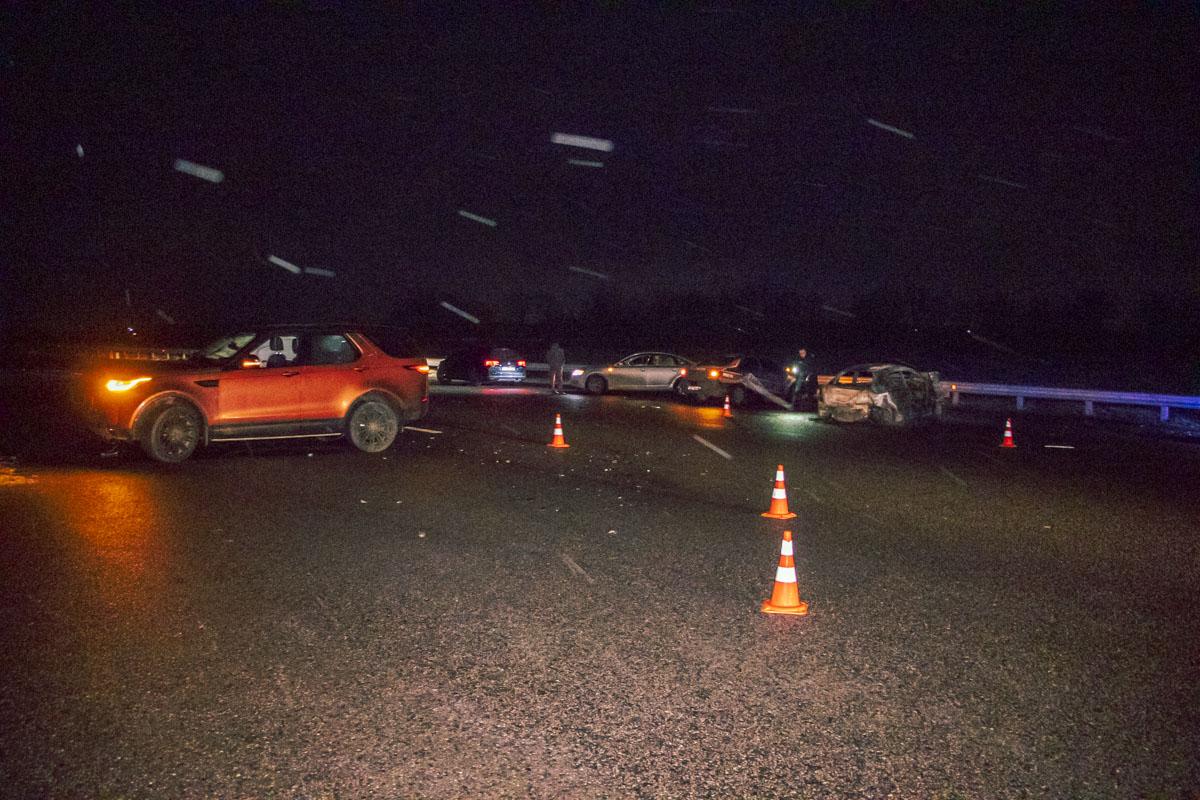 В ночь на 30 декабря на 43-километре трассы Киев-Одесса произошло серьезное ДТП с пострадавшими