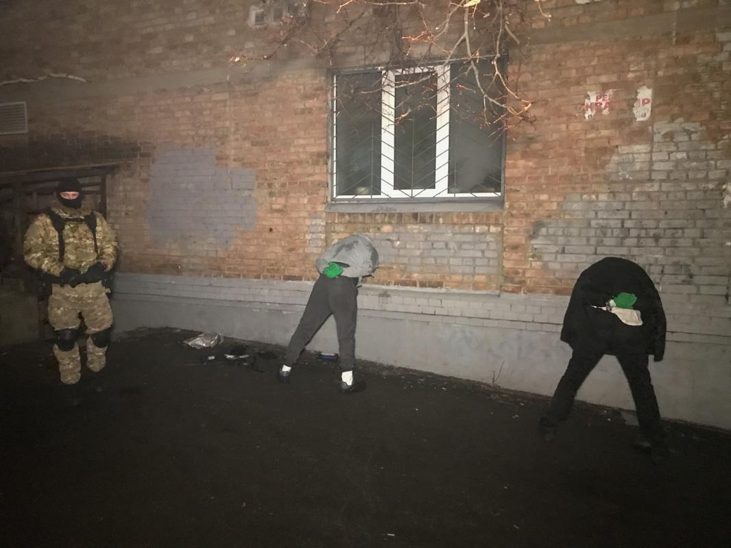 Злоумышленников задержали во время поджогов