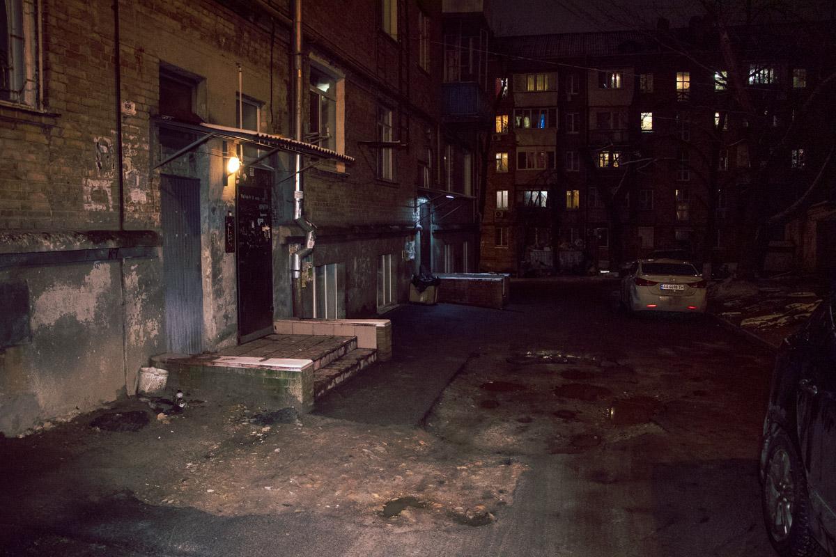 В Голосеевском районе произошел конфликт с поножовщиной