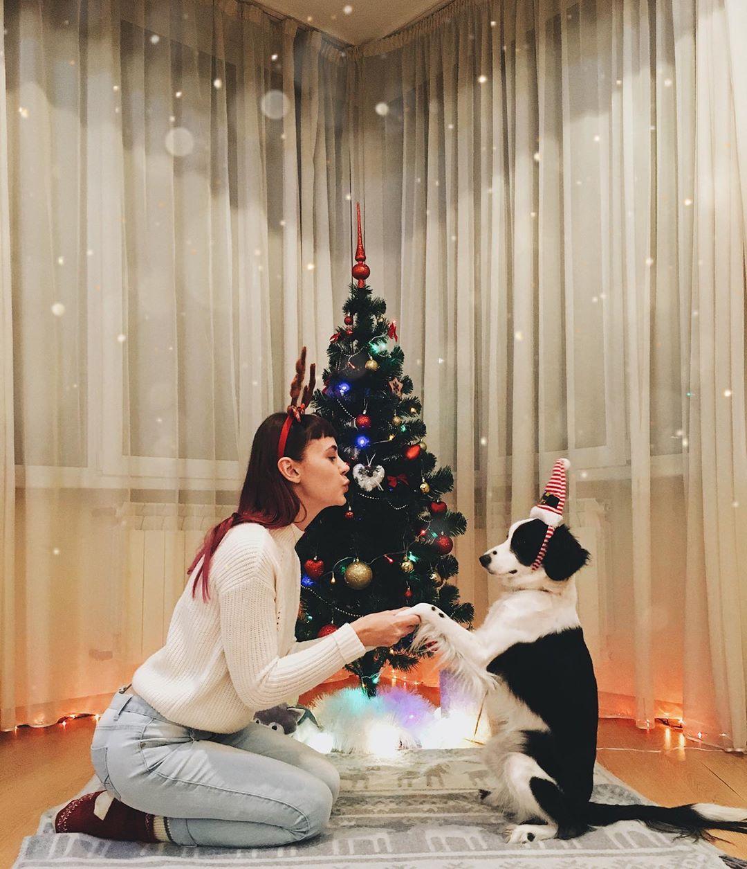 А с кем Новый год будете встречать вы? Фото - @solya.fasolya