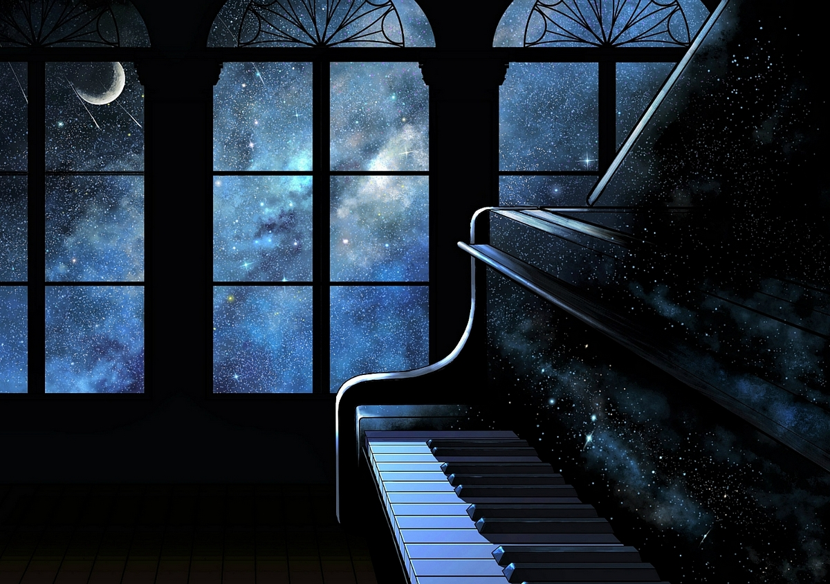 Отличная музыка в космической обстановке - это Piano Space в Киевском планетарии