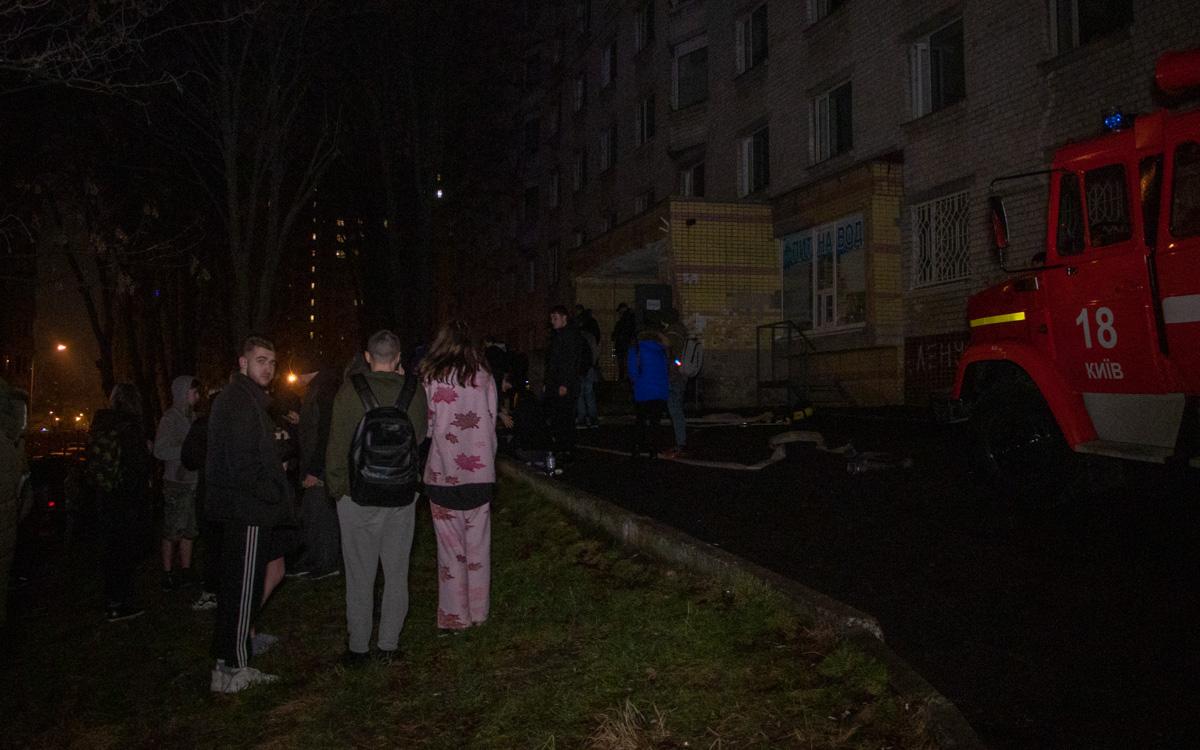 Из здания эвакуировали более 300 студентов