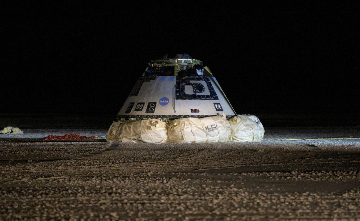 Starliner не смог пристыковаться к МКС, однако посадка первого аппарата прошла успешно