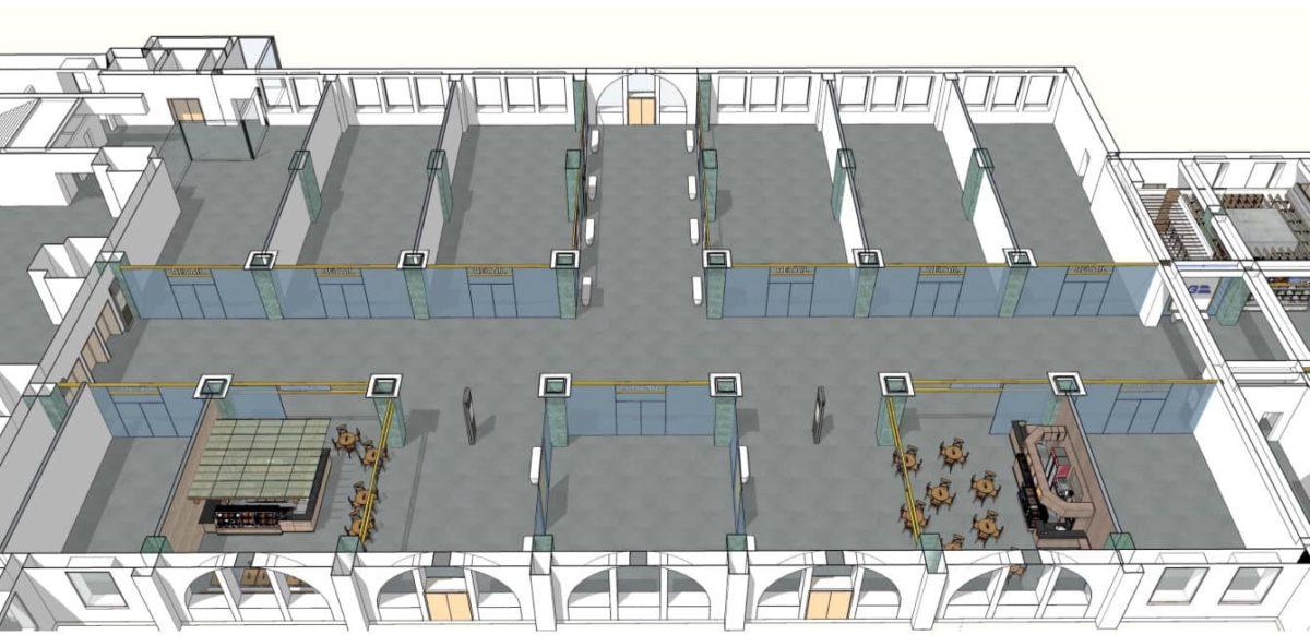 Первый этап реконструкции должен затронуть только внутреннее убранство вокзала