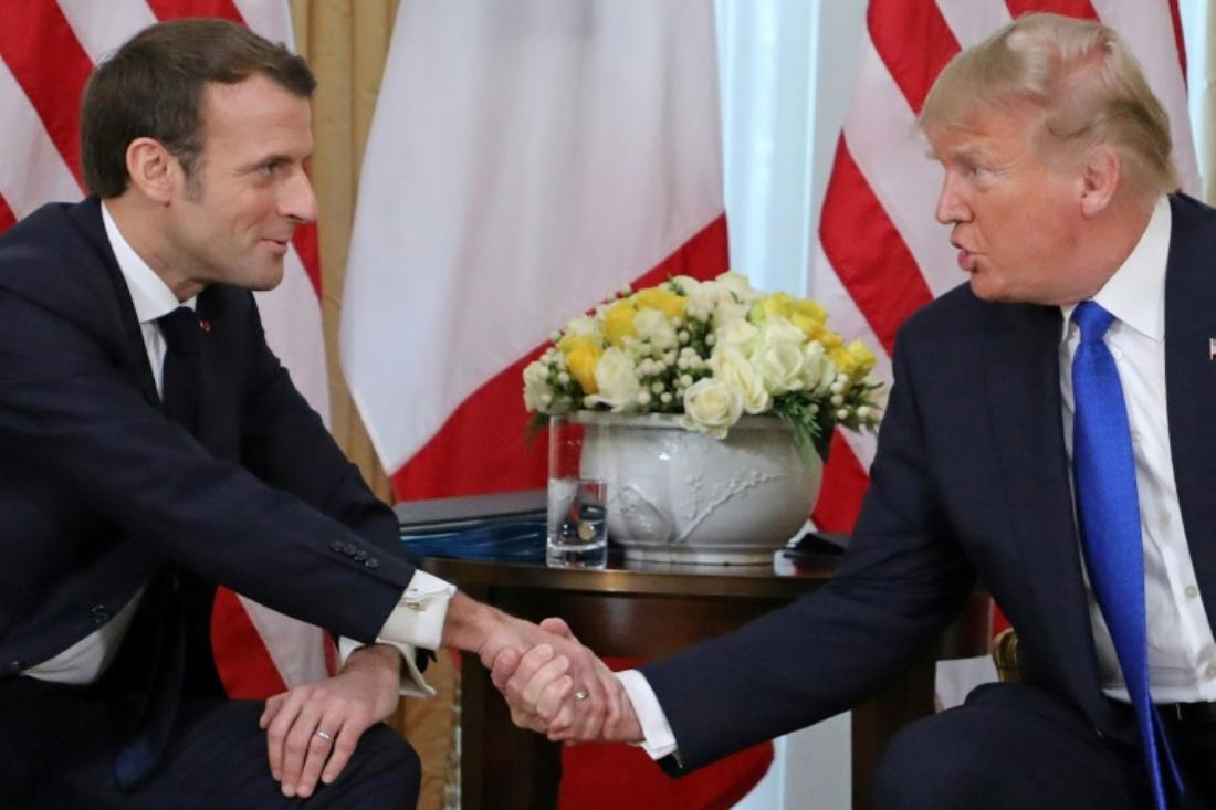 Встреча двух лидеров Североатлантического альянса