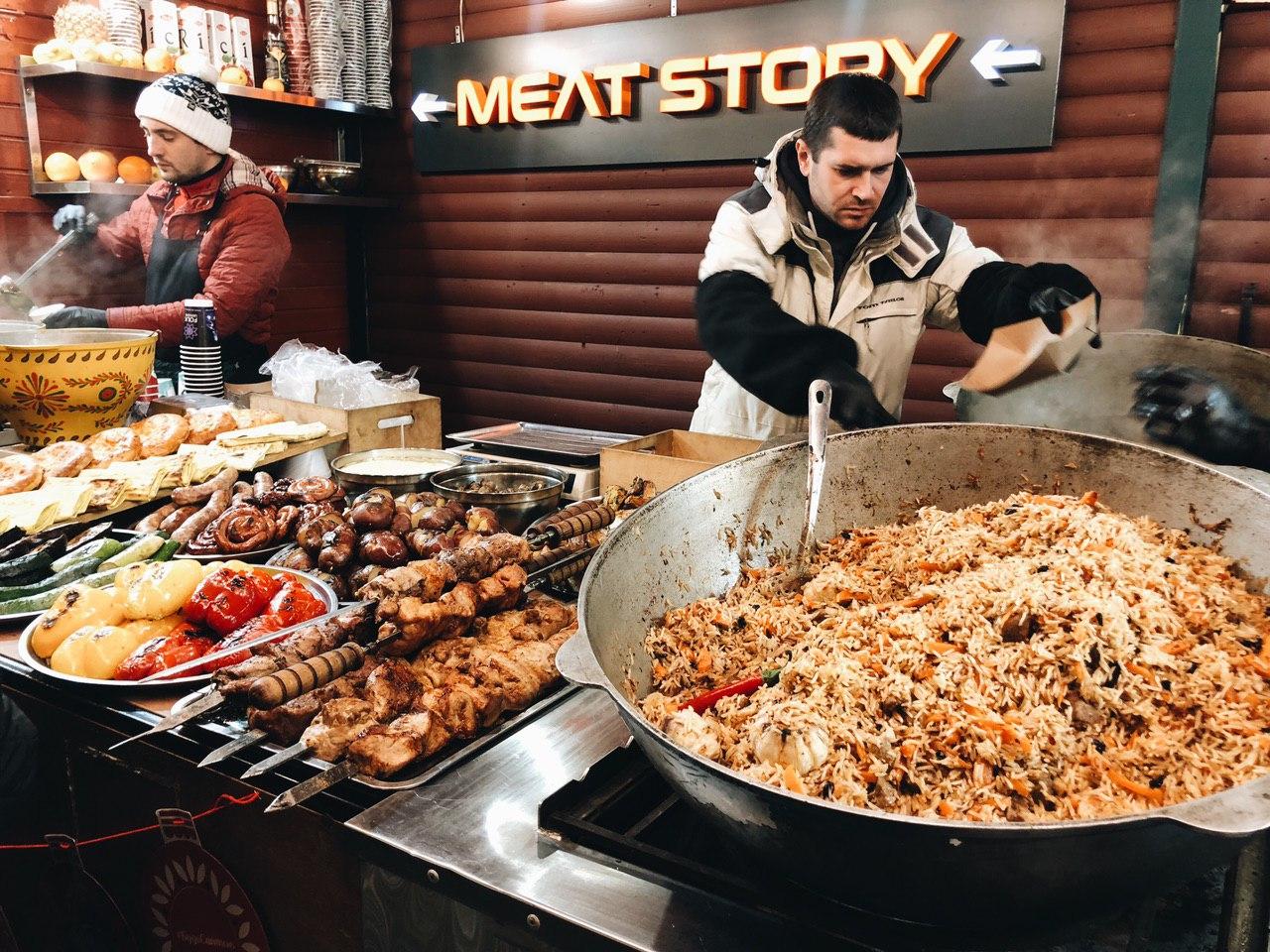 Классика жанра уличной еды