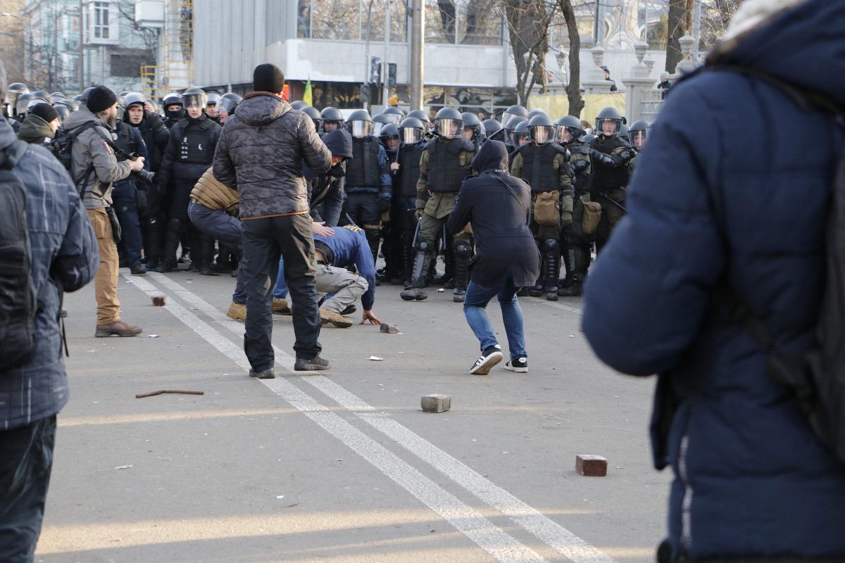 участники митинга противников закона о рынке земли произошел конфликт с правоохранителями