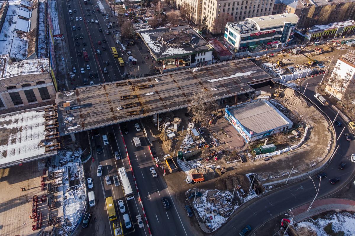 Ремонт Шулявского моста выходит на финальную стадию